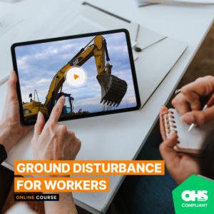 ground disturbance course
